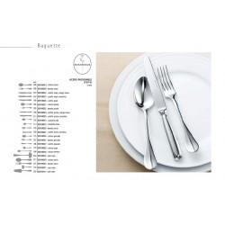 Cuchillo mesa mango hueco