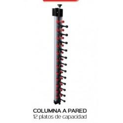 Columna emplatar pared para 12 platos